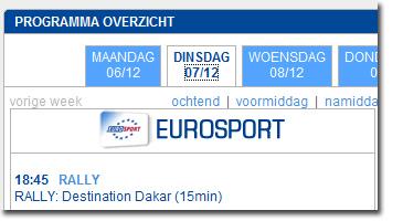 uitzending gemist eurosport